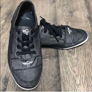 Women's Creative Recreation Sneakers sz 10 Black